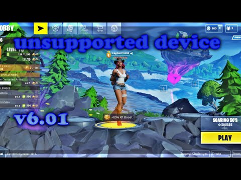 Fortnite Mobile For Unsupported Devices APK(v6.01)