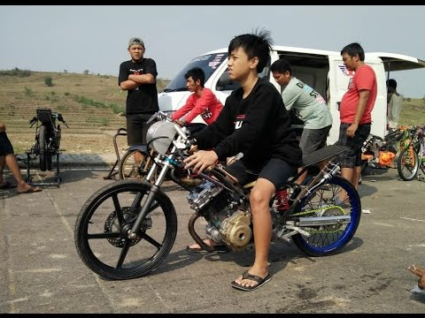 Alvan Cebonk Vs Eko Kodok Satria Fu Tune Up 200cc