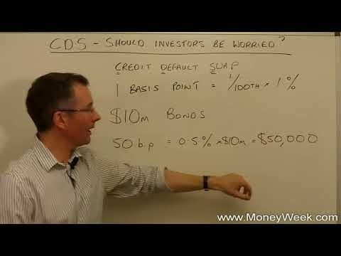 Credit default swaps CDS   What are they and should investors be worried about them