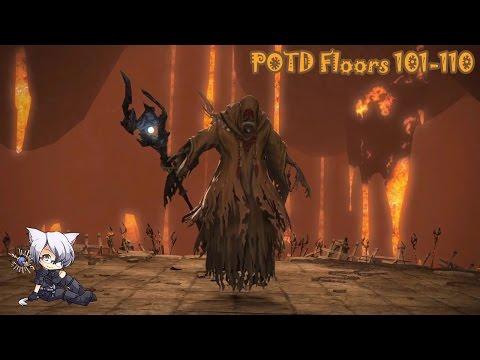 FFXIV - POTD Floor 101-110 | BLM PoV