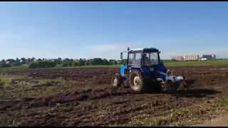 Вспашка земли трактором от компании ВспашкаЗемли.РФ
