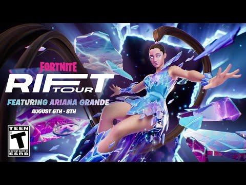 Fortnite Ariana Grande Event Official Trailer (Rift Tour)