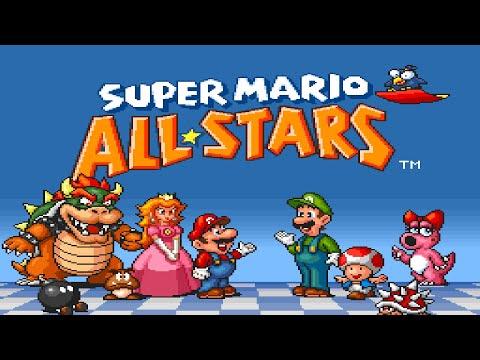 Super Mario All-Stars Music - SMB3 World 1 Map