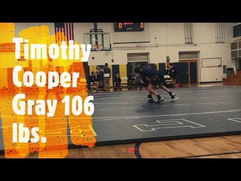 Timothy Cooper Gray 106 lbs