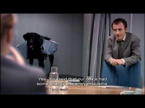 Man Stroke Woman - Conference Room Dog Filing with subtitles