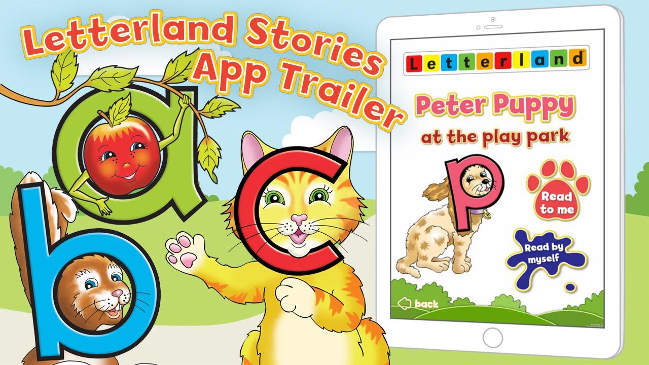 app trailer letterland stories youtube