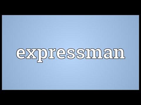 Header of expressman