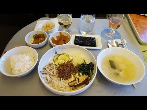 How to eat Bibimbap onboard Korean Air