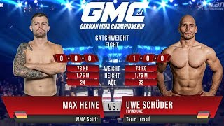 Uwe Schüder vs. Max Heine GMC 23 - Flying Uwe (Full Fight)