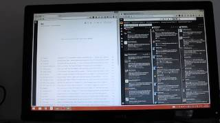 Using the Asus Transformer Book T100 as a desktop