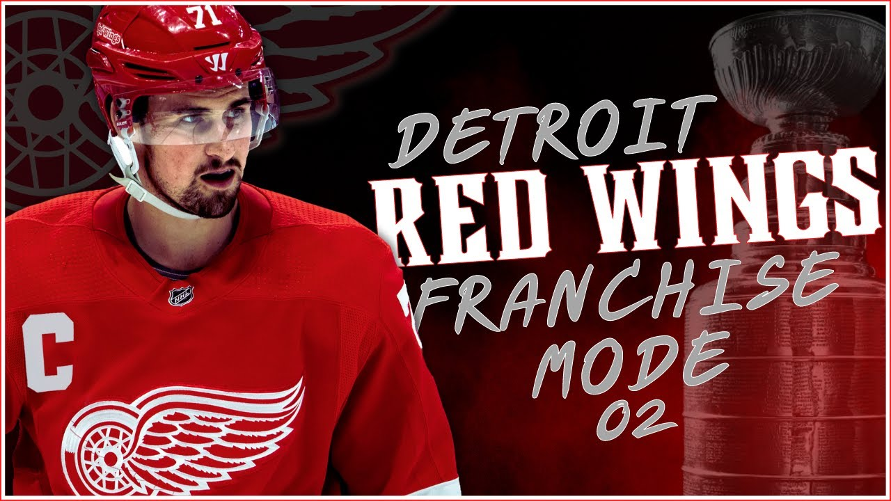 Download YEAR 2   Detroit Red Wings Franchise Mode   NHL 22