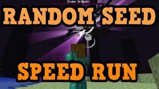 Minecraft Xbox - SPEED RUN WORLD RECORD ATTEMPT