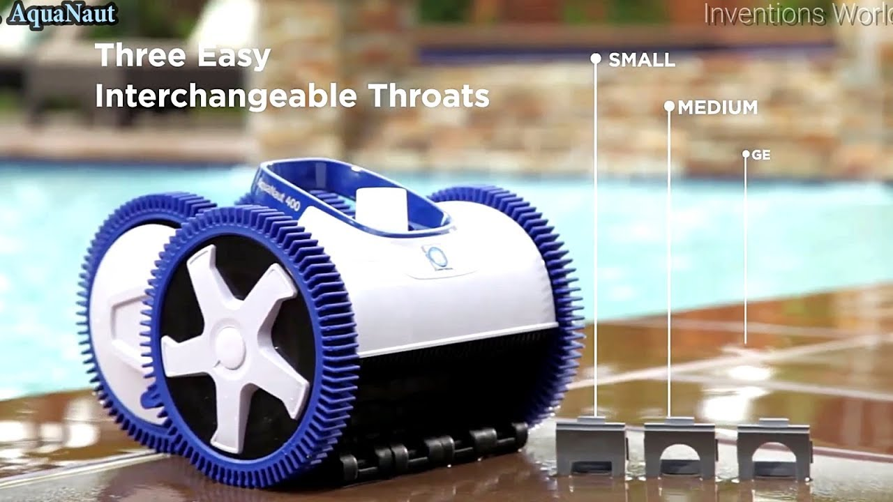 5 Cool Robotic Pool Cleaners -Automatic Pool Vacuums You Can buy On Amazon