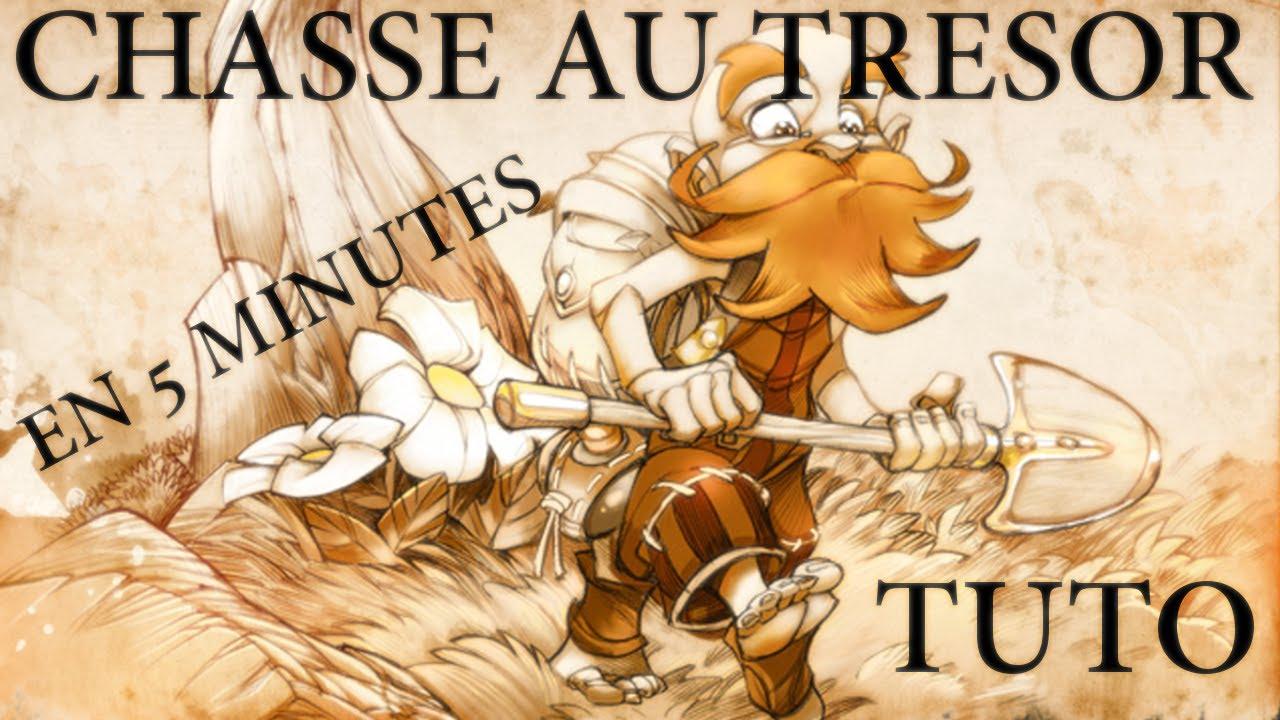 (DOFUS) TUTO : Chasse au trésor en 5 MINUTES ! - YouTube