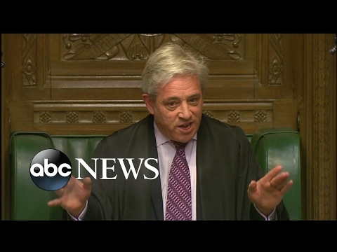 UK Parliament Speaker 'Strongly Opposed' to Trump Address