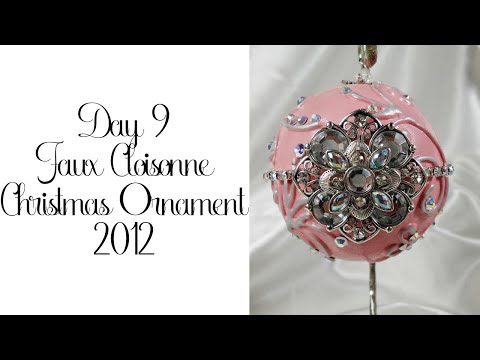 Day 9 of 10 Days of Christmas Ornaments with Cynthialoowho 2012