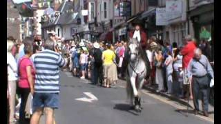 Pen Llyn Lusitanos leading the Brecon Jazz Parade 2009