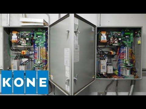 KONE/Elevator Industries Hydraulic Elevator Machine Room Tour