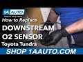 How to Replace Downstream O2 Sensor 00-06 Toyota Tundra