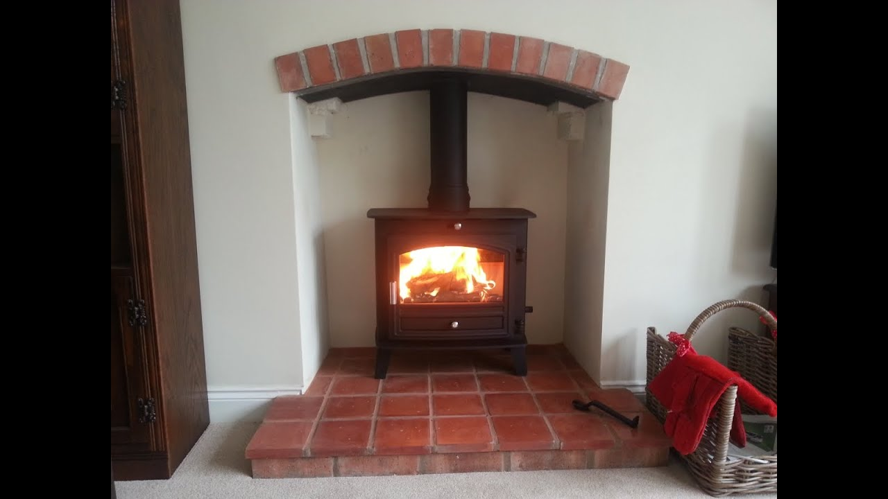 Avalon Slimline 5 stove, installation of Fireplace and ...
