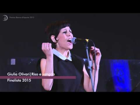 Giulia Olivari - Finalista Premio Bianca d'Aponte XI ed