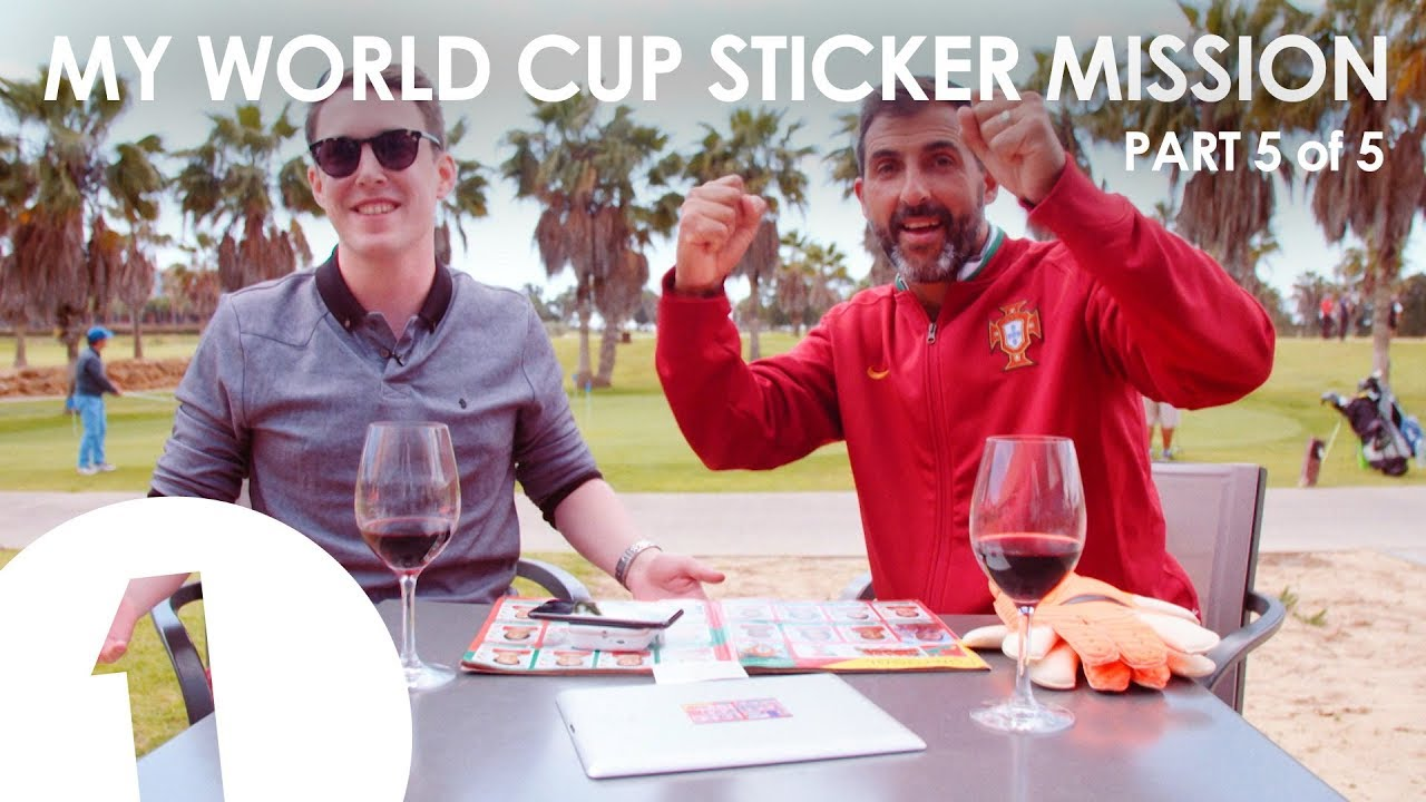 Need: Ricardo - My World Cup Sticker Mission Part 5
