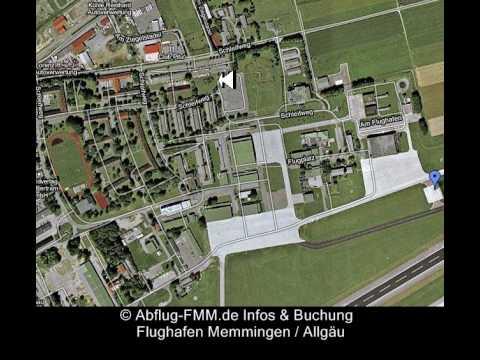 Flughafen Memmingen Anreise Anfahrt Wegbeschreibung
