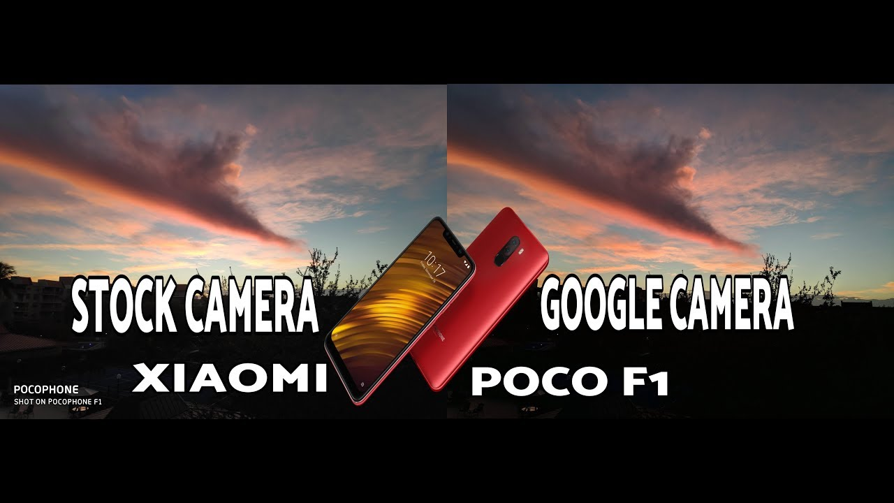 Xiaomi Poco F1 Stock Camera vs Google Camera