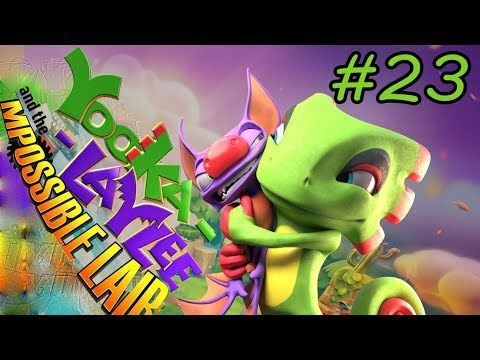 Yooka-Laylee and the Impossible Lair - Walkthrough - Part 23 - Hazard Hanger Hung HD |