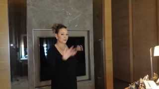 Mariah Carey Surprises a Fan in China!
