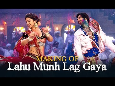 Lahu Munh Lag Gaya Song Making - Goliyon Ki Raasleela Ram-leela Travel Video