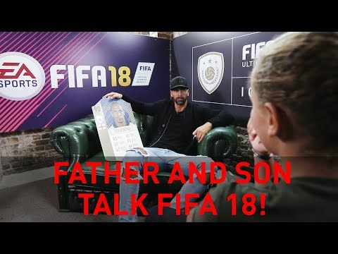 Rio & Ferdinand Jr - Father and Son talk FIFA 18 ratings!