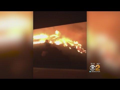 Los Angeles' Bel Air Neighborhood Targeted By Powerful Wildfire