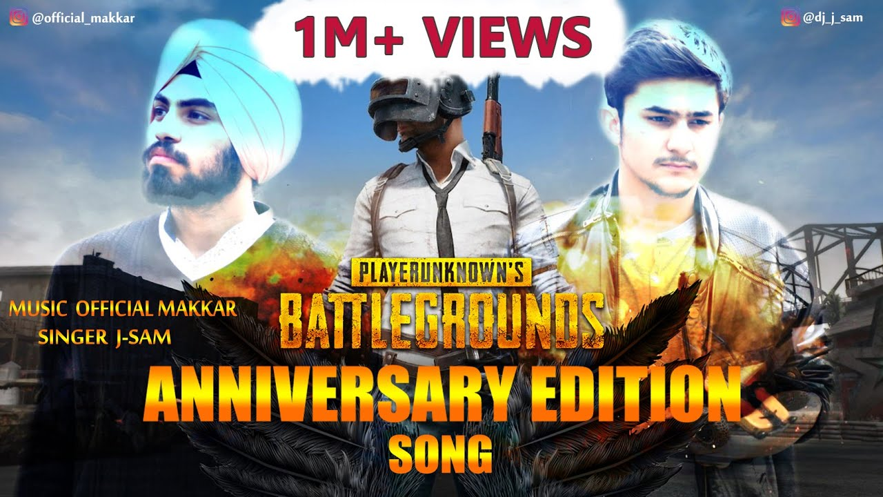 PUBG anniversary song || Offic...