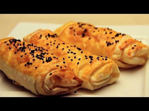 Peynirli Rulo Börek Tarifi - Hazır...
