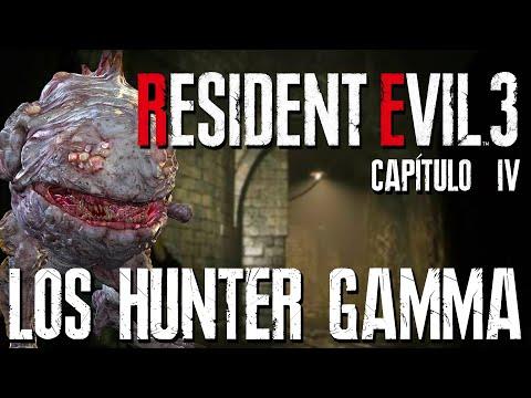 RESIDENT EVIL 3 (REMAKE) - Capítulo 04 - LOS HUNTER GAMMA | PS4 | Gameplay en Español