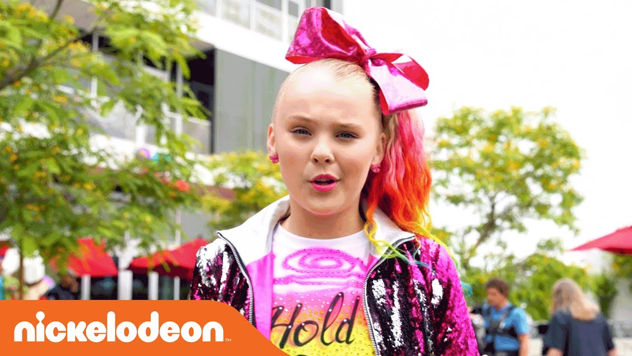 Jojo Siwa Bts Of The Hold The Drama Official Music Video Nick
