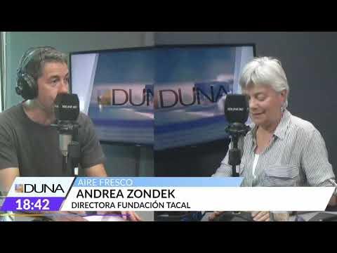 Andrea Zondek de Fundación Tacal en Aire Fresco