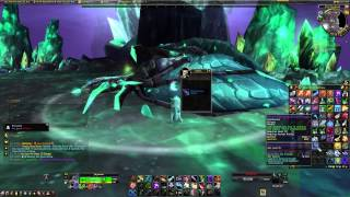 Vitreous Stone drake drop with freakout