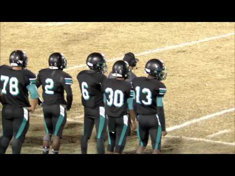 Woodside vs Grassfield playoff football game 2016