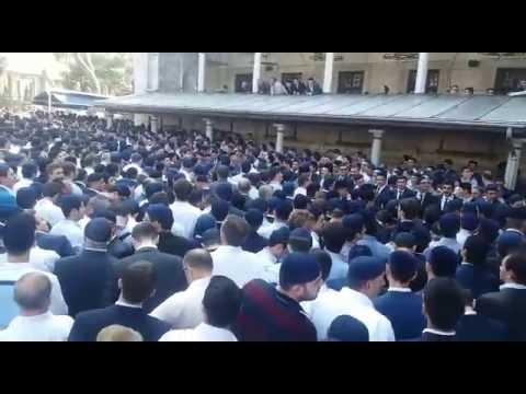 Kanaat Önderi Arif Ahmet Denizolgun'un cenaze naması Selimiye Camii'nde kılındı