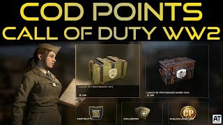 ARRIVANO I CALL OF DUTY POINTS SU WW2 - COSA CAMBIA E PACK OPENING [COD WWII ITA]