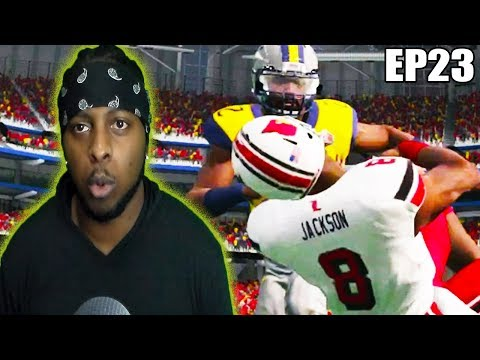 TD2 EP23 - Facing Lamar Jackson in The National Championship!!! rtg ss 14