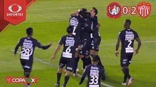¡Derrota a domicilio! | A. San Luis 0 - 2 Necaxa | Copa Mx - J1 | Televisa Deportes