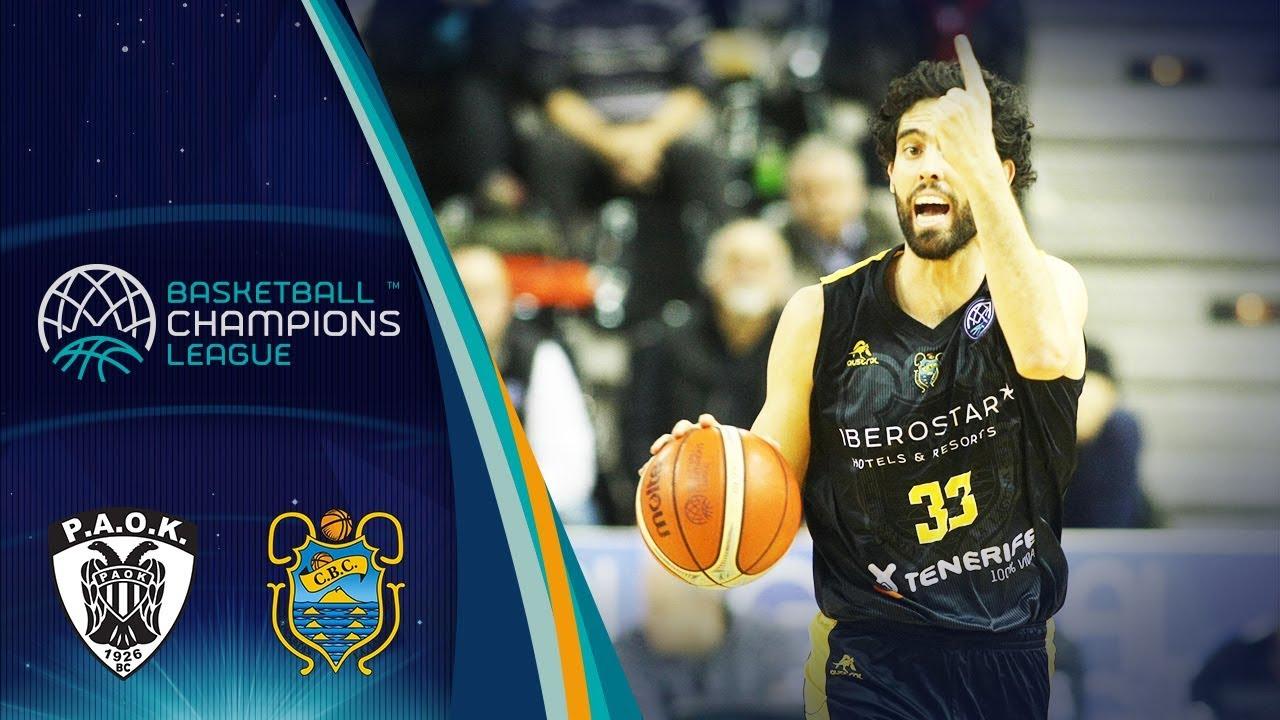 8bddfb7a7e PAOK v Iberostar Tenerife boxscore - Basketball Champions League 2018-19 -  5 February - Basketball Champions League 2018-19