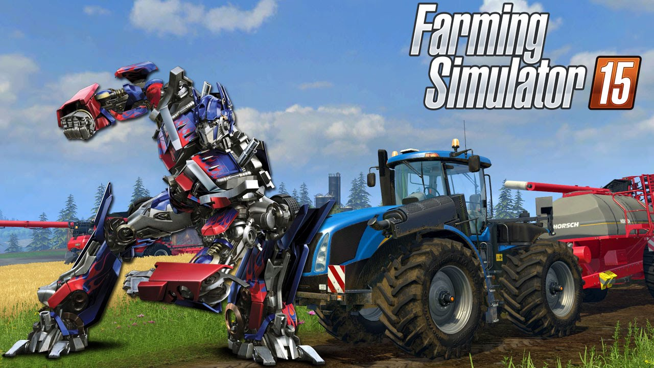Farming Simulator 2015 Transformers Youtube