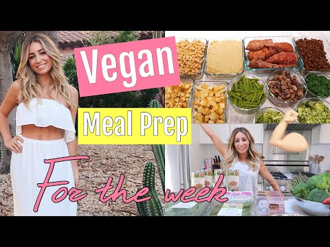 Weight Loss Vegan Meal Prep For The Week! BUDGET FRIENDLY!