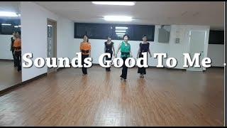 Sounds Good To Me -Line Dance(Helen Owen)