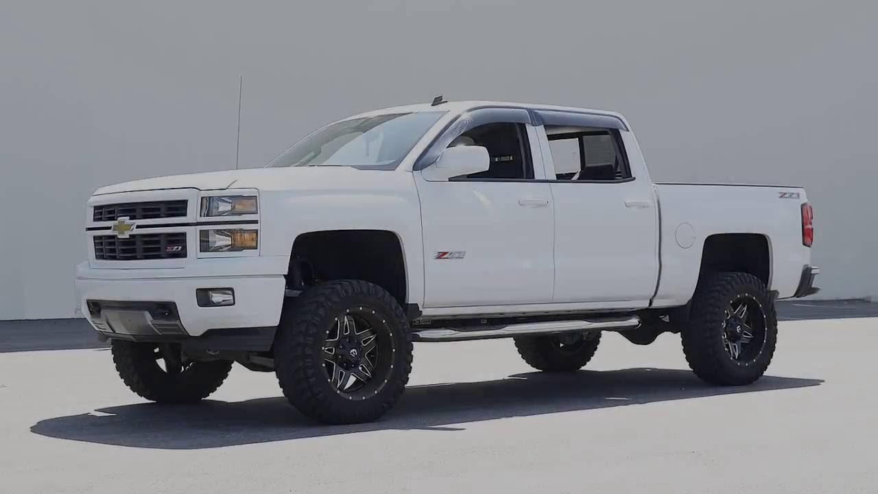 For 2006 Chevrolet Silverado 3500 Side Window Deflector ... |White Silverado Window Deflectors