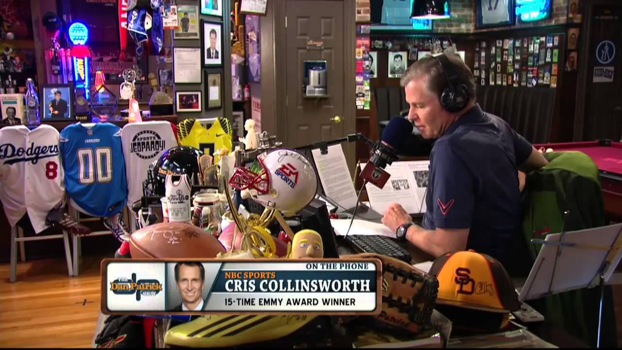 Man Caves Dan Patrick : Cris collinsworth on the dan patrick show full interview 10 2 14